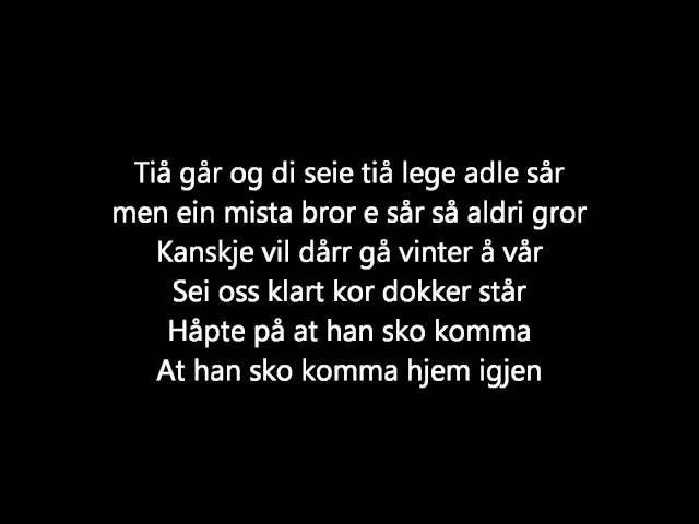 Mods - Alexander [lyrics]
